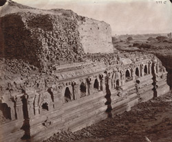 Rear view of ruins of the Baladitya Temple, Nalanda 1003188